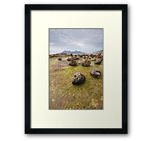 Freaky Geology Framed Print
