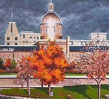 Marche Bonsecours, Montreal by Dan Wilcox