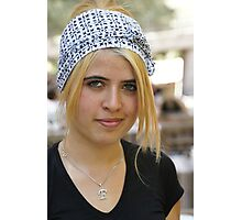Portrait of a Turkish Girl Photographic Print