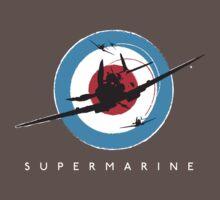 Supermarine Spitfire Design 001 Baby Tee
