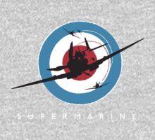 Supermarine Spitfire Design 001 One Piece - Short Sleeve