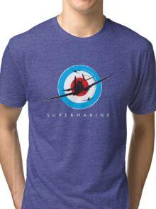 Supermarine Spitfire Design 001 Tri-blend T-Shirt