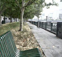 Mind if I take a seat? by Norman Repacholi