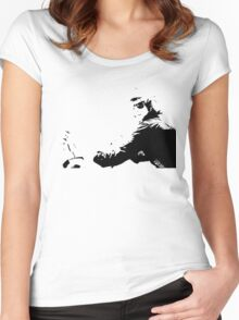 The look Women's Fitted Scoop T-Shirt