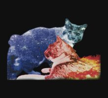 A Cat of Ice and Fire Kids Tee