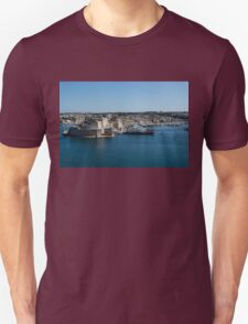 Postcard from Malta - Grand Harbour Superyachts T-Shirt