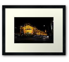 Not Just A Monopoly Stop Framed Print