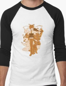 Fantastic Mr Fox Men's Baseball ¾ T-Shirt