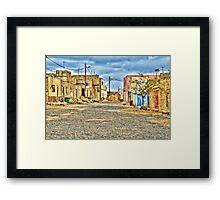 Capoverde -Africa Framed Print