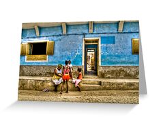 Capoverde-Africa Greeting Card