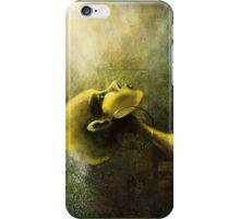 Alien in Yellow -Road of the Dessert iPhone Case/Skin
