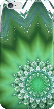 iPhone/iPod Touch Case - Kaleidoscope wave by Joseph Rotindo