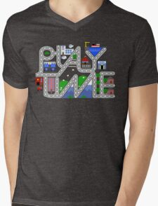 Play time! Mens V-Neck T-Shirt