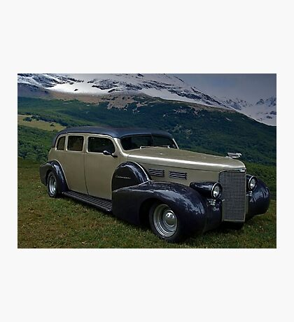 1938 Cadillac Limo Custom Hot Rod Photographic Print