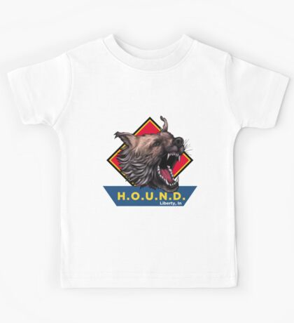 H.O.U.N.D Liberty, In shirt Kids Tee