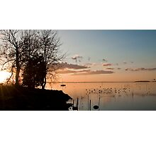 Peaceful Lake Photographic Print