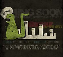 Dinosaur in the City by Bliss Ng
