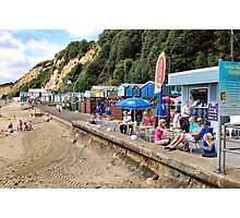 Traditional British sea-side holidays.. Photographic Print