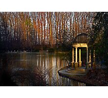 The gazebo at Longwood Gardens Photographic Print