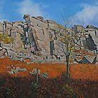 Stanage Edge Derbyshire Dales by Graham Clark