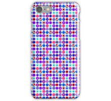 Poke-A-Dots - Purple Negative [iPhone case] iPhone Case/Skin