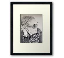 Micheline Framed Print
