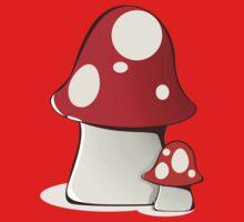 Magic mushrooms One Piece - Short Sleeve