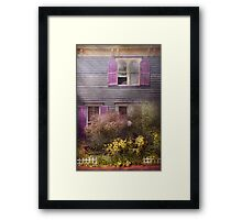 House - Victorian - A house to call my own  Framed Print