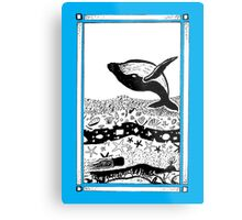 Having a Whale of a Time Metal Print