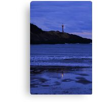 Night Falls on Cape Forchu Canvas Print