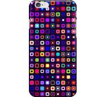 Retro Squares - Black [iPhone case] iPhone Case/Skin
