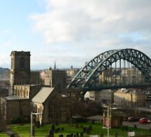 Newcastle panoramic by Metcalfe