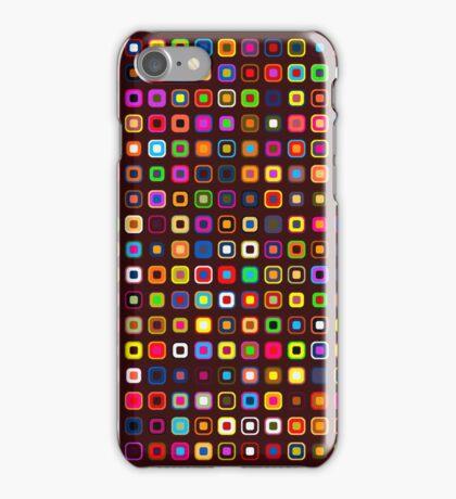 Retro Squares - Brown [iPhone case] iPhone Case/Skin