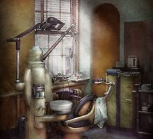 Dentist - Dental Office circa 1940's by Mike  Savad