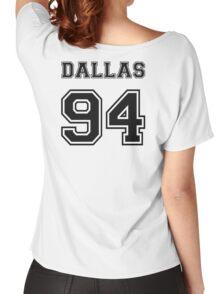 Dallas 94 #DALLAS94 Cameron dallas Black Women's Relaxed Fit T-Shirt
