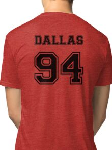 Dallas 94 #DALLAS94 Cameron dallas Black Tri-blend T-Shirt
