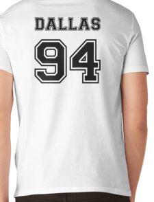 Dallas 94 #DALLAS94 Cameron dallas Black Mens V-Neck T-Shirt