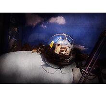 Fireman - Captains hat Photographic Print
