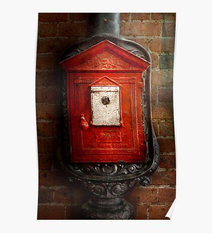 Fireman - The fire box Poster