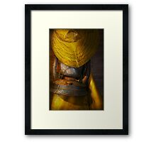 Boat - It was a dark and stormy night Framed Print