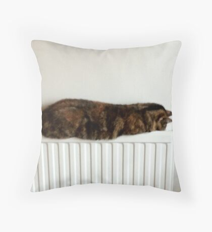 Missile Cat! Throw Pillow
