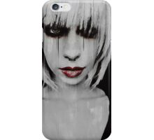 Lyric Gothic Portrait iPhone Case/Skin