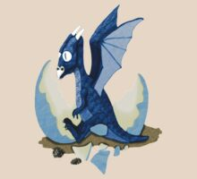 Blue Dragon Hatchling by tapiona