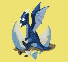 Blue Dragon Hatchling Kids Tee
