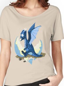 Blue Dragon Hatchling Women's Relaxed Fit T-Shirt