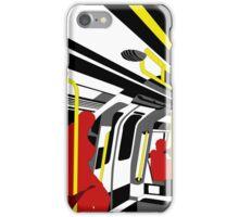 aboard the London trian iPhone Case/Skin