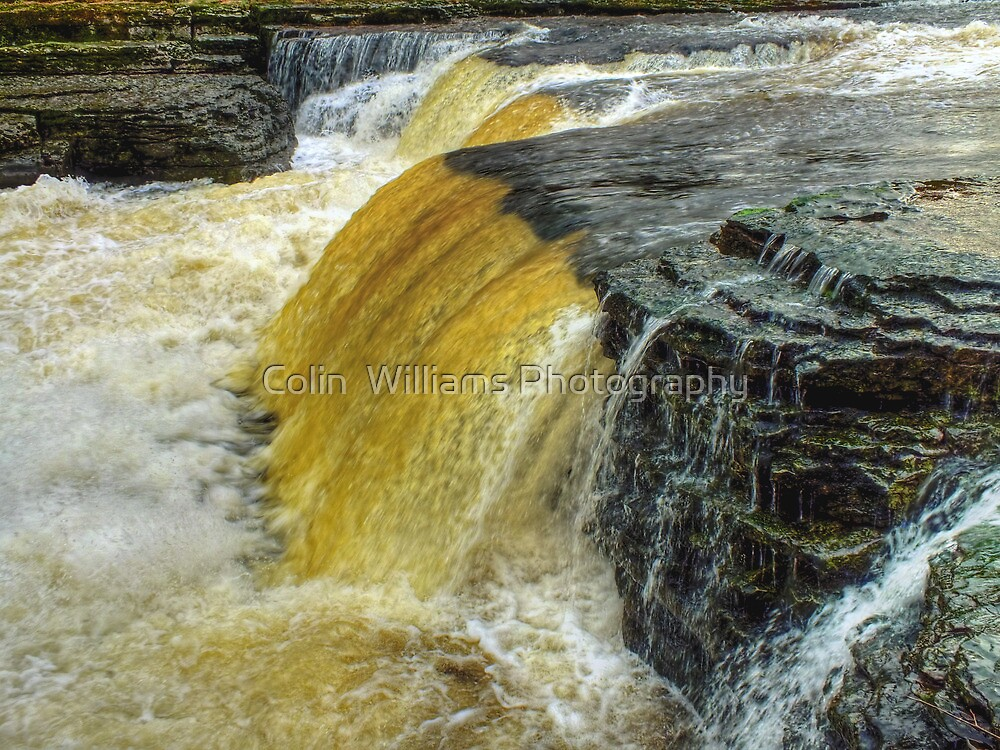 Lower Falls Aysgarth - HDR by Colin  Williams Photography