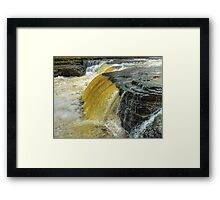 Lower Falls Aysgarth - HDR Framed Print