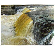 Lower Falls Aysgarth - HDR Poster