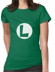 Luigi Logo Womens Fitted T-Shirt